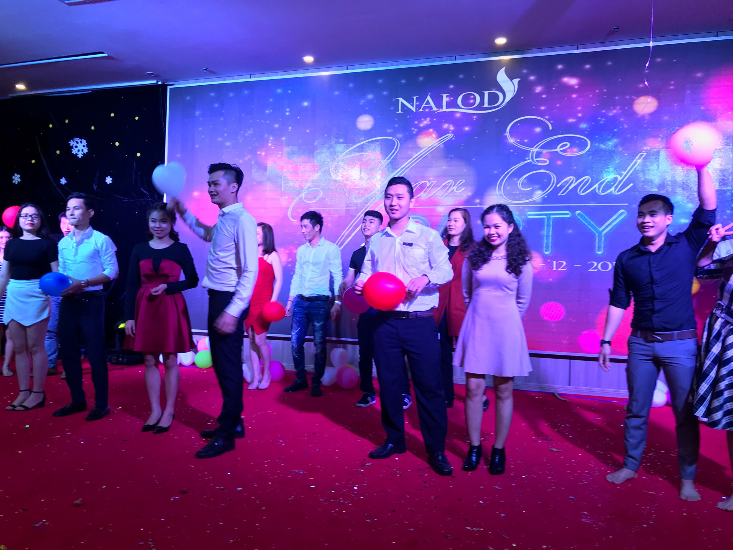 2017 Year End Staff Party The Nalod Danang